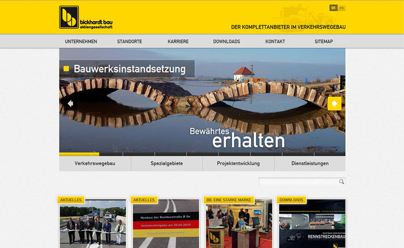 Bickhart Bau Website 2