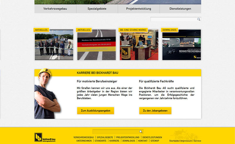 Bickhart Bau Website 3