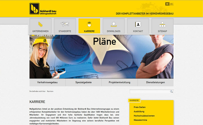 Bickhart Bau Website 4
