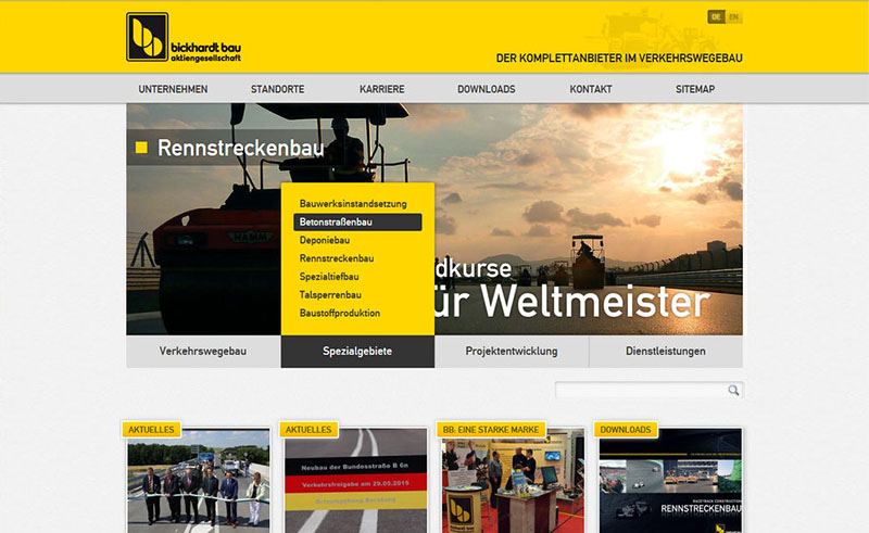 Bickhart Bau Website 5